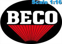 BECO Pré-Cut Decals Scale 1:16