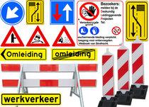 Werk / Verkeersborden