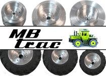 MB Trac Velgen & banden Custom made