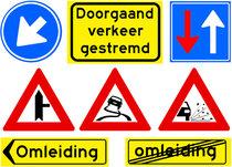Verkeers stickers