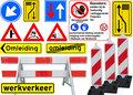 Werk--Verkeersborden