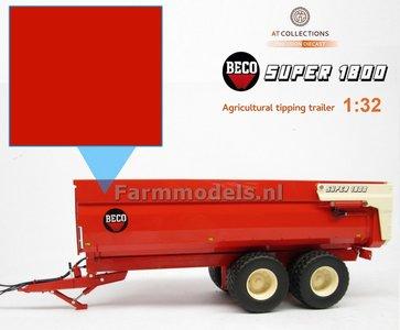 BECO ROOD MODEL AT KLEUR Spuitbus / Spray paint - Farmmodels series = Industrie lak, 400ml. ook voor schaal 1:1 zeer geschikt  EXPECTED