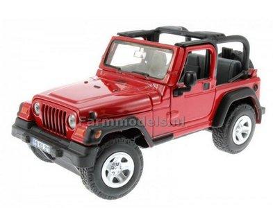 Jeep Wrangler Rood 1:32 Siku S4870