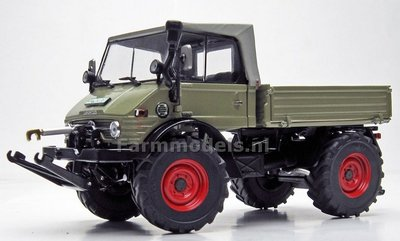 Soft Top Unimog 406 Groen (1971-1989) 1:32 Weise Toys MW1066   EXPECTED WEEK 43/44