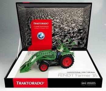 Fendt Farmer 3S 4WD met Frontlader Traktorado 2019 1:32 UH6232