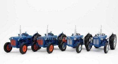 Fordson (Super) Dexta Set van 4 -1:32 Legend Farmmodels MM-LEG-SET   EXPECTED