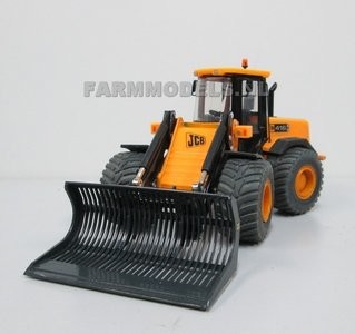 Puinriek Normaal handgebouwd model t.b.v. JCB of Volvo shovel, geschikt voor onze snelwisselsets 55000 t/m 55050, 1:32