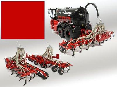 EVERS Rood Spuitbus / Spraypaint - Farmmodels series = Industrie lak, 400ml. spuitbusverf, ook voor schaal 1:1 zeer geschikt!!