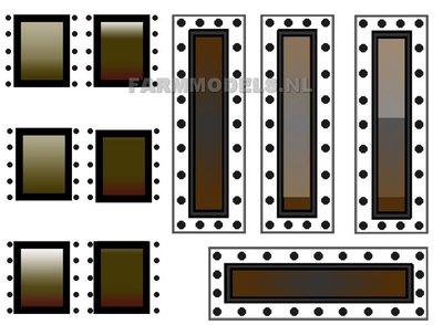 OVE-00052 Kijkglas stickers Mesttank op transparant