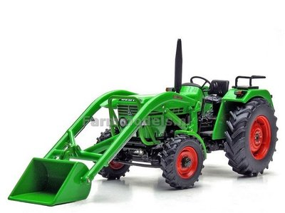 Deutz D 52 06 A met frontlader 1:32 Weise Toys MW1072
