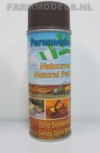 92014 Donker Bruin Natuurtintserie - Farmmodels Extra Mat !!