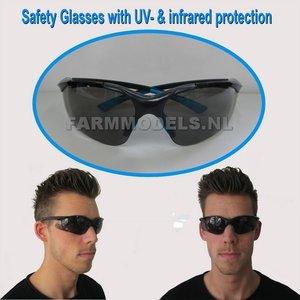 98030 Veiligheidsbril met UV- & Infrarood bescherming