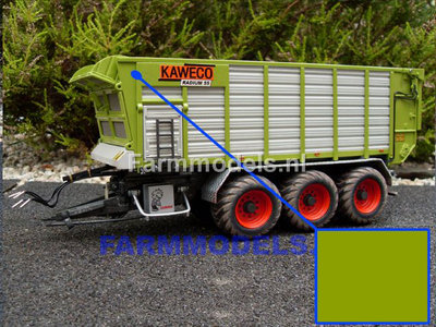 cedb05e8e6d191 Claas GROEN - Farmmodels series Spuitbus / Spraypaint - Farmmodels series =  Industrie lak, 400ml