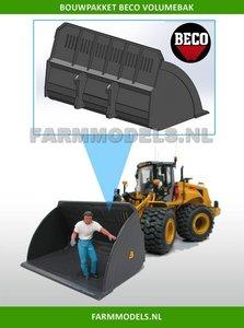 BECO Volumebak BOUWKIT geschikt voor koppeling snelwissels 55001 t/m 55050 & Volvo VAB-STD 1:32