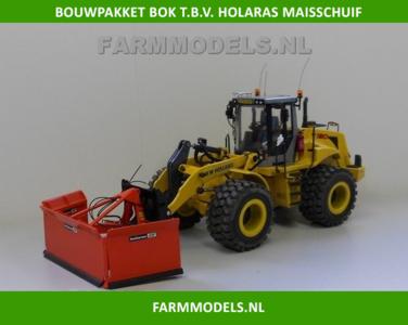 Bok BOUWKIT t.b.v. Holaras Maïsschuif geschikt voor koppeling snelwissels 55001 t/m 55050 & Volvo VAB-STD 1:32