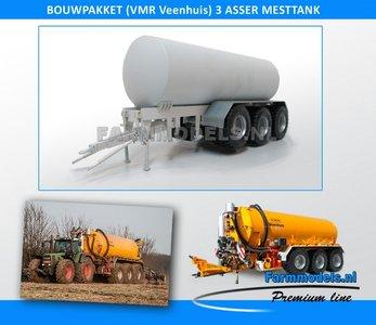 24850 3 Asser mesttank basis (VMR Veenhuis of ander merk) Bouwpakket 1:32