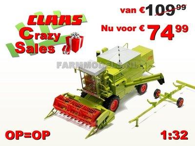 CLAAS Dominator 85 met Cabine 1:32, Supersale! Last ones