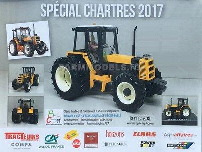 55119  Chartres 2017 RENAULT TX 145-14 TX-16 (1981-1986) - Lim. Ed 1:32, op=op