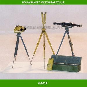 82506 Meet apparatuur / Landmeet apperatuur Wegenbouw / grondverzet Optische meet set bouwkit