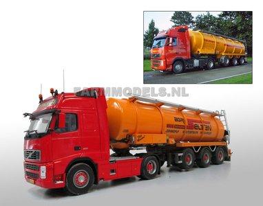 28161 Voorbeeldfoto's Mestoplegger + Volvo truck 1:32