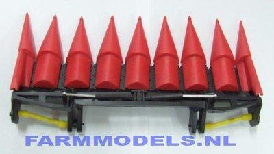 8 rijer kolvenplukker opklapbaar (03 205)