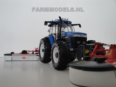 548. New Holland 8770A met Kuhn Tripple maaier