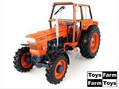ORANJE velgen ORANJE Cabine Fiat 850 DT (1969) 4WD  1:32   UH5298-Toys-Farm