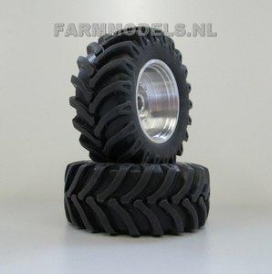 Aluminium velgen vooras Fendt 936/939 + Brede band 1:32