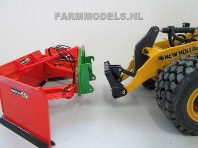 Tips & Opties: Uitleg Holaras MaÍs schuif aan New Holland shovel, schaal 1:32, m.b.v. Farmmodels snel wisselset