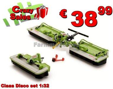Claas Disco 3500 + Disco 9100 Triple maaier 1:32   USK30004  SUPERSALE