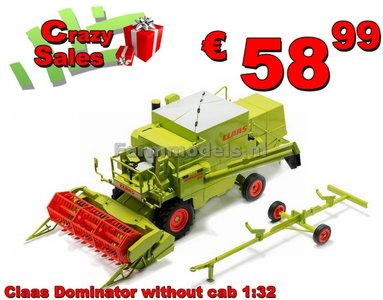CLAAS Dominator 85 zonder Cabine 1:32, Superstunt LAST ONES