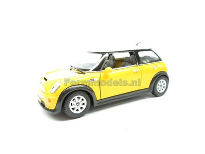 Mini Cooper S Yellow 1 32