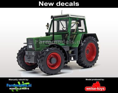 New Decal: Fendt 614 LSA Turbomatic E zonder fronthef  1:32   MW1059-N  VERWACHT