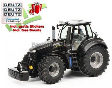 """Deutz-Fahr 9340 TTV Black """"Warrior"""" Edition 1:32   SCH07773 EXPECTED"""