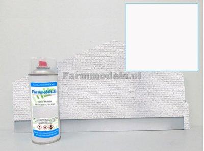 FOAM PRIMER WIT/ LICHT GRIJS Matt Natuurtintserie 400ml- Farmmodels Mat