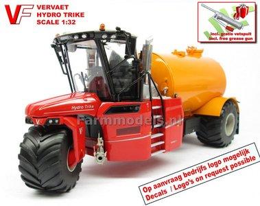 VERVAET Hydro Trike, YELLOW TANK ZONDER VERVAET LOGO 1:32  MM1819