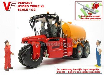 VERVAET Hydro Trike XL, YELLOW TANK ZONDER LOGO Lim.Ed. 1:32 MM1820