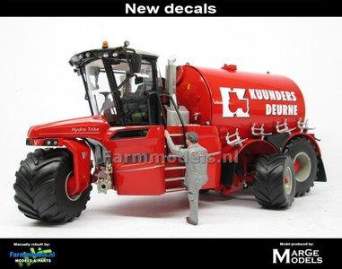 ND-VERVAET Hydro Trike XL, RED TANK + KUUNDERS DEURNE LOGO 1:32 Marge Models  MM1819-KUUNDERS-5