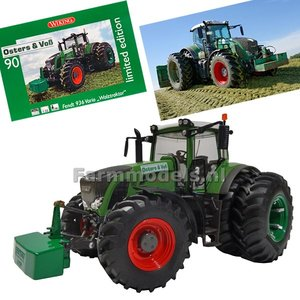 Osters & Vos Fendt Vario 936 Wiking Dubbellucht achteras Limited Edition  1:32   EXPECTED THIS WEEK