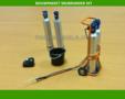 82145-Snijbrander-met-4-gas-zuurstofflessen-beschermkap-en-emmer-bouwkit-1:32-(04845)