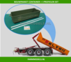 25106-Container-+-I-profielen-ombouw-set-t.b.v.-haakarm-carrier-bouwkits-incl.-stickerset-1:32