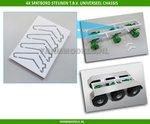 26035-4x-Spatbordsteun-o.a.-t.b.v.-(Universeel)-3-as-chassis--1:32