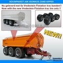 27620-JVZK-36000-Jan-Veenhuis-zand-Kipper-36000-Bouwpakket-nu-met-Vredestein-Flotation-Trac-800-45-R30.5-banden-+-Metallic-Aluminium-gespoten-velgen-+-BPW-eindnaven-1:32--Farmmodels-Primium-line-Ver