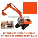 92122-HITACHI-ROS-model-Oranje-Spuitbus-Spray-Paint-Farmmodels-series-uitlevering-eind-februari