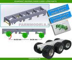 26028-Universeel-3-as-chassis-met-liftas-functie-asafstand-64.06-mm-(1:1-=-2050-mm)-perfect-als-basis-voor-je-zelfbouwchassis-1:32-geleverd-zonder-assen-banden!!!