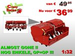 65660**-Gramegna-V86-36-300-Spitmachine-1:32-Farmmodels-Crazy-Sales-Weken-superstunt-aanbiedingen