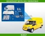 28430-Bouwkit-Bestelbus-met-losse-deuren-1:32-verwacht