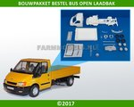 28431-Bouwkit-Bestelbus-met-open-laadbak-1:32