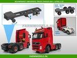 28107-Universeel-Vrachtwagen-Chassis-6x4-met-lift-as-Bouwpakket-Basis-1:32