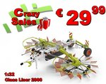 52059--Claas-Liner-2900-Hooihark--Duiner--Lim.-Claas-edition-#-3000-1:32-LAST-ONES